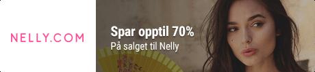Spar opptil 70% hos Nelly