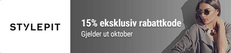 15% STYLEPIT rabattkode